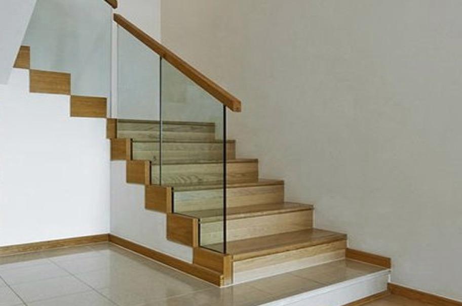 Barandillas y escaleras de cristal vitoria - Escaleras de cristal y madera ...